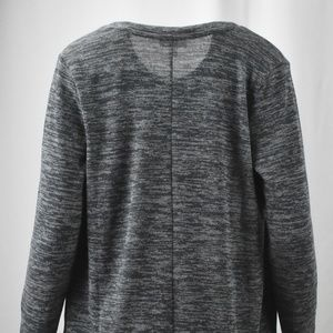 Style /& Co Women/'s Plus Graphite Gray 3//4 Sleeve Open Front Cardigan Size 3X NEW